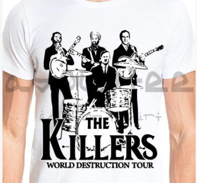 Camisa The Killers